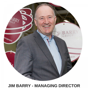 JIM BARRY - MANAGING DIRECTOR